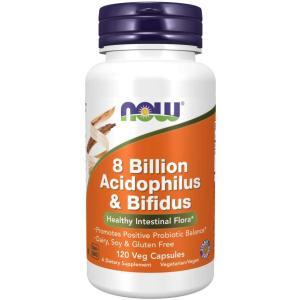 80億 アシドフィルス菌& ビフィズス菌 徳用120粒 サプリメント