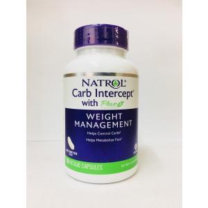 Natrol 白インゲン豆 カーブインターセプト 120粒