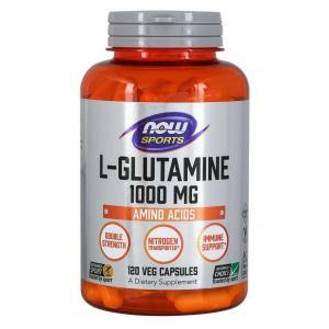 Now Foods L-グルタミン 1000mg 120粒 サプリ|bsdiet