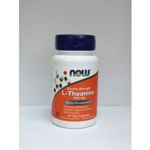 Now Foods L-テアニン 200mg イノシトール配合 bsdiet