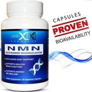 GENEX-NMNエイジケア  ニコチンアミドモノヌクレオチド配合 NMN配合 青ボトル 60カプセル入り