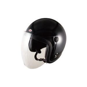 "【436】TNK ""SPEEDPIT"" スモールジェットヘルメット JL-65SR シングルカラー/ブラック|bsm"