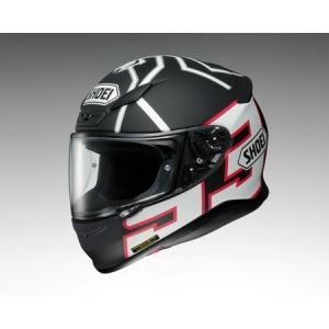 【280】SHOEI/ショウエイ フルフェイスヘルメット Z-7 MARQUEZ BLACK ANT (ゼット-セブン マルケス ブラック アント) ブラック/ホワイト