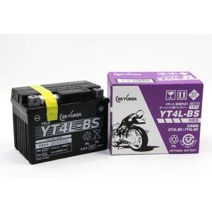 【306】ジャパン GSユアサバッテリー/YT4L-BS【液注入充電済み(VRLA/制御弁式)MFメンテナンスフリー】|bsm