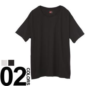 肌着 Tシャツ 半袖 大きいサイズ メンズ サカゼン ビズカジ魂 抗菌防臭 綿100% クルーネック アンダーシャツ 5L Hanes btclub