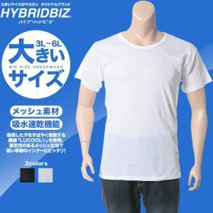 細やかなメッシュ素材で仕上げた半袖Tシャツ。吸水速乾・抗菌防臭の機能が付いているので暑い季節も涼しく...
