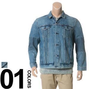 大きいサイズ メンズ ジャケット LEVI'S リーバイス デニム 綿100% 袖切替 フルボタン 1XL-3XL|btclub