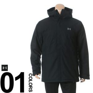 大きいサイズ メンズ ジャケット UNDER ARMOUR アンダーアーマー coldgear STORM1 ロゴ刺繍 中綿 フルジップ PRIMALOFT 1XL-3XL|btclub