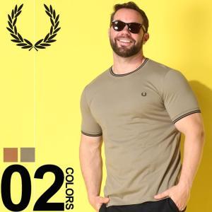 Tシャツ 半袖 大きいサイズ メンズ サカゼン 綿100% 胸ロゴ 衿袖ライン クルーネック フレッ...