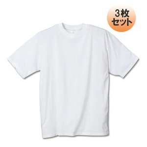 大きいサイズ メンズ クルーTシャツ3枚パック サカゼン 3L 4L 5L