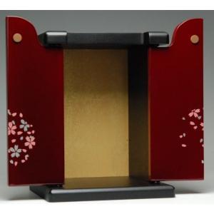 仏壇メモリーステージ7号桜タメ色手元供養ペット用祭壇ペット仏壇としておすすめのモダンで小型のミニ仏壇/葬儀_お葬式_法事|btdn