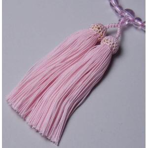 数珠修理・念珠修理 人絹房 片輪 (頭房・新松)  じゅず ひも切れ・房取り替え 直し 修理