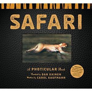 本 デザイン グラフィックス Safari: A Photicular Book 正規輸入品