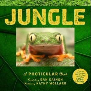 本 デザイン グラフィックス Jungle: A Photicular Book 正規輸入品