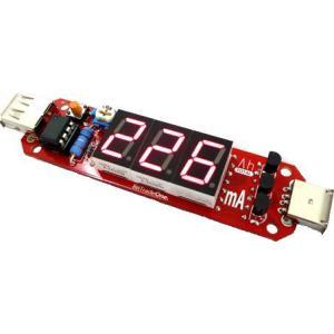 USB接続 充電容量チェッカー組立済み/AD00023P|bto