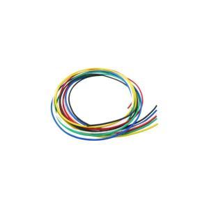 配線材6色セット AWG24 配線材 各0.5m 0.25SQ相当|bto