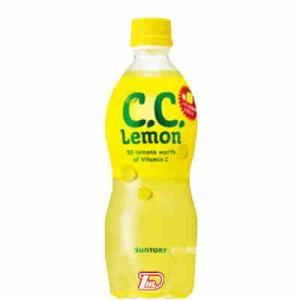 CCレモン サントリー 500ml ペット 24本入|btobdaihei