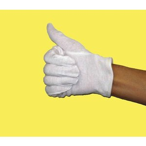 【送料無料】白手袋 警備 作業用手袋 白 スムス手袋 品質管理用【1001】|btobdepot|04