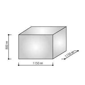 透明 パレットカバー 角底袋(800H) 3mm 50枚入 btobdepot 04