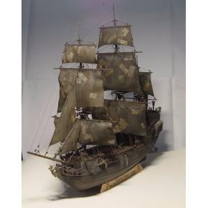 帆船模型 ブラックパール号 模型 1/96スケール デラックスキット