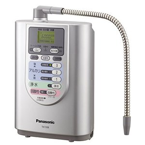 商品説明 「パナソニック アルカリイオン整水器 TK7208P-S」は、省スペース型でキッチンを有効...