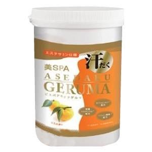 ゲルマニウム入浴料 美SPA ASEDAKU GERUMA YUZU(ゆず) ボトル 1kg|bts-shop
