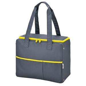 冷たいものをしっかりと冷やしたまま持ち運べる、毎日のお買い物に便利な保冷ショッピングバッグです。
