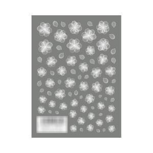 TSUMEKIRA(ツメキラ) ネイルシール rrieenee×filer プロデュース1 オーガンジーフラワー White NN-RXF-101|bts-shop