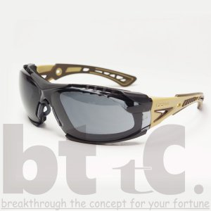 bolle ボレー RUSH PLUS ASIAN PLATINUM スモークレンズ TAN|bttc