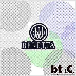 【限定グッズ】送料無料 ベレッタ社ロゴシール4枚セット【メール便】※代引き不可※|bttc