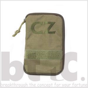 CZ 実銃メーカー特製スナイパーポーチ 特製ボールペン メモ帳セット モール対応|bttc