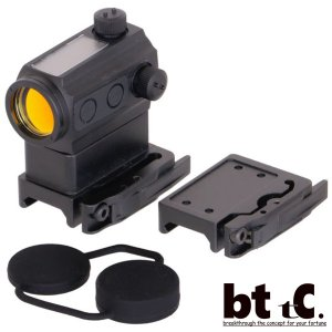 メーカー直送  マイクロドットサイト  ANS optical  T-1タイプ Gen2.5 ソーラーパネル仕様 BK/TAN|bttc