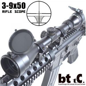 メーカー直送 ライフルスコープ   ANS optical 3-9倍 可変ズーム 3-9x50 バトラーキャップ ハイマウントリング付 ハイエンドモデル bttc