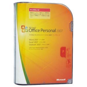 Microsoft Office Personal 2007製品版 開封品 アップグレード版