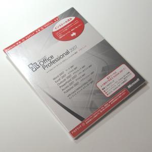 送料無料 Microsoft Office Professional 2007 アカデミック OEM版 開封品