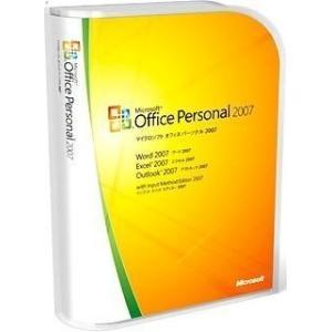 Microsoft Office 2007 Personal マイクロソフト オフィス パーソナル 開封品 製品版