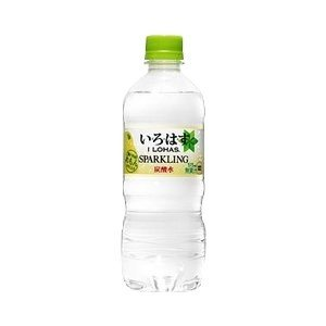 〔まとめ買い〕コカ・コーラ い・ろ・は・す(いろはす/I LOHAS) スパークリングれもん 515ml×24本(1ケース) ペットボトル|bucklebunny