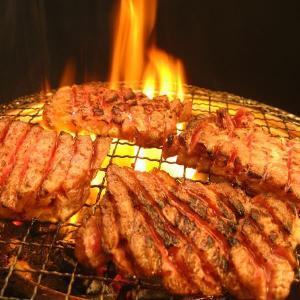 亀山社中 タレ漬け焼肉・BBQセット 華咲きハラミ&華咲きひとくち牛モモ 2.16kg|bucklebunny