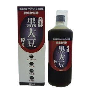 発酵 黒大豆搾り 720ml|bucklebunny