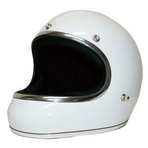 ダムトラックス(DAMMTRAX) ヘルメット AKIRA ホワイト M|bucklebunny