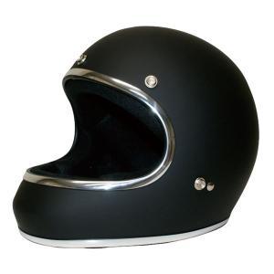 ダムトラックス(DAMMTRAX) ヘルメット AKIRA マットブラック M|bucklebunny