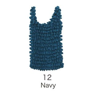 EC‐3絞バッグ大 Navy bucklebunny