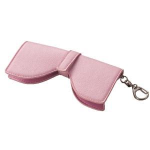 大人可愛いリボン型メガネホルダー(ピンク) bucklebunny