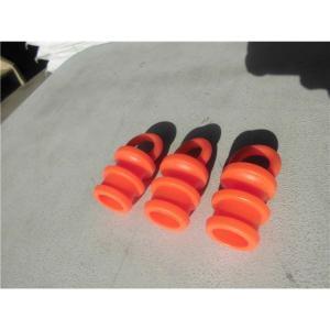 〔10個セット〕 ソフトコーン用プラスチックチェーンリング 〔50mm〕 PVC製〔代引不可〕|bucklebunny