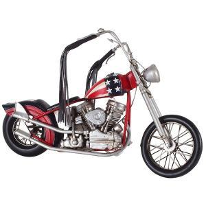 ブリキのおもちゃ 置き物 〔バイク01〕 材質:鉄 〔インテリアグッズ ディスプレイ雑貨〕〔代引不可〕 bucklebunny