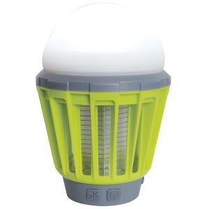 殺虫機能付き LED ランタン/照明器具 〔ライムグリーン〕 防水 USB充電 モスキートガード 『富士見産業 Field to Summit』|bucklebunny