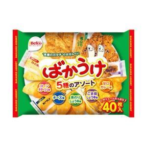 (まとめ)栗山米菓 ばかうけアソート〔×10セット〕|bucklebunny