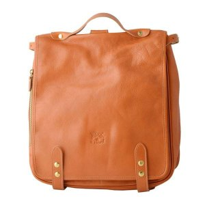 IL BISONTE(イルビゾンテ) A1845 145 CARAMEL リュックサック バックパック ショルダーバッグ〔代引不可〕 bucklebunny