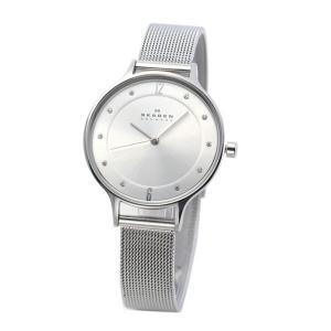 SKAGEN(スカーゲン) SKW2149 レディス腕時計 ラインストーンインデックス メッシュストラップ〔代引不可〕 bucklebunny
