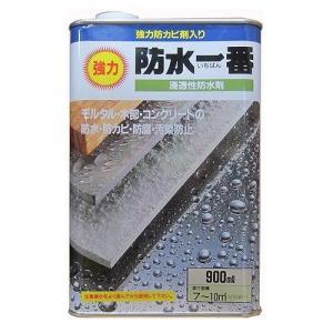 日本特殊塗料 - 強力防水一番 - 900ML - クリヤー